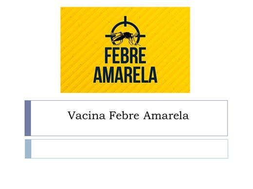 Curso Online de Vacina Febre Amarela