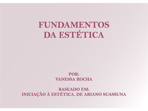Curso Online de Fundamentos da Estética