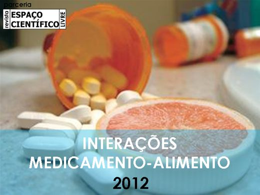 Curso Online de INTERAÇÕES MEDICAMENTO-ALIMENTO