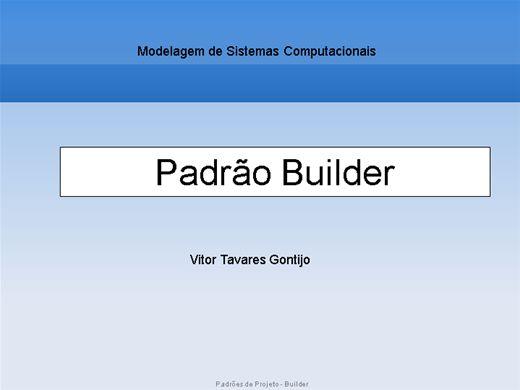 Curso Online de Padrões de Projeto - Builder