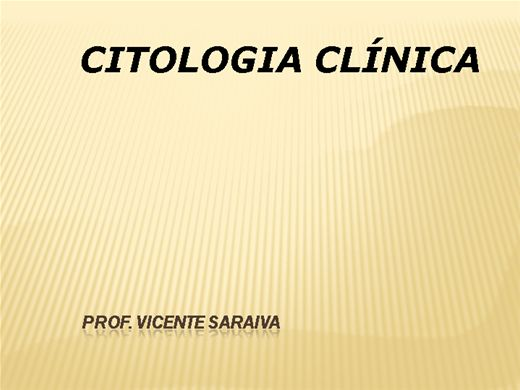 Curso Online de Citologia Clínica