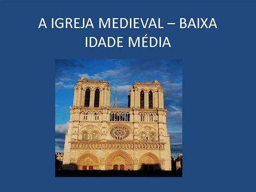 Curso Online de A IGREJA MEDIEVAL - BAIXA IDADE MÉDIA