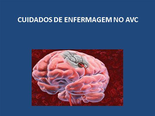 Curso Online de CUIDADOS DE ENFERMAGEM NO AVC