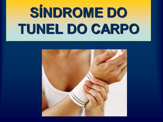 Curso Online de SINDROME DO TUNEL DO CARPO