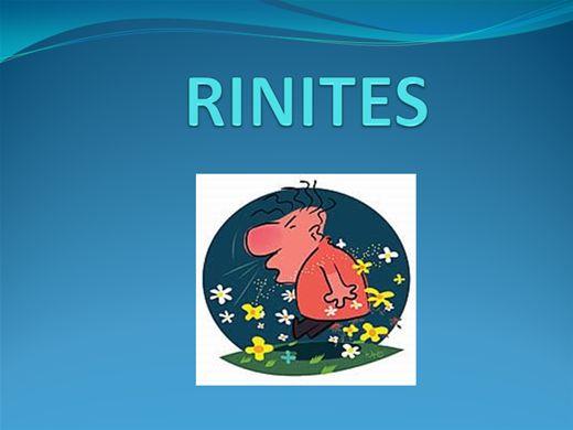 Curso Online de RINITES