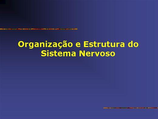 Curso Online de ORGANIZAÇÃO E ESTRUTURA DO SISTEMA NERVOSO