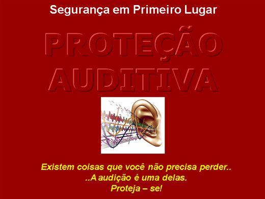 Curso Online de PROTEÇÃO AUDITIVA
