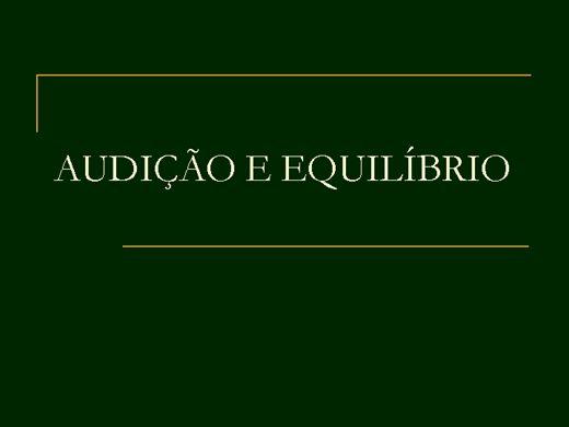 Curso Online de AUDIÇÃO E EQUILÍBRIO