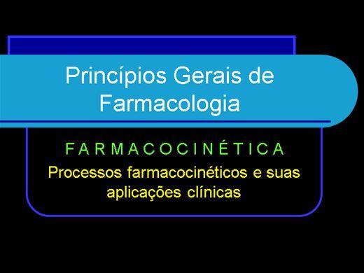 Curso Online de PRINCÍPIOS GERAIS DE FARMACOLOGIA
