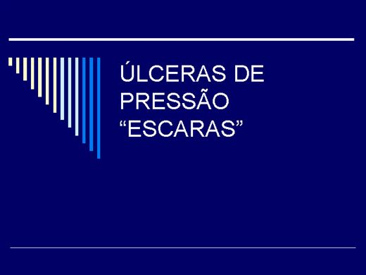 Curso Online de ÚLCERAS DE PRESSÃO ESCARAS