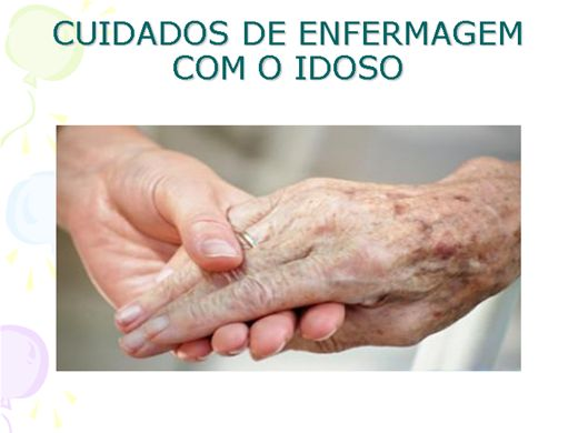 Curso Online de CUIDADOS DE ENFERMAGEM COM O IDOSO