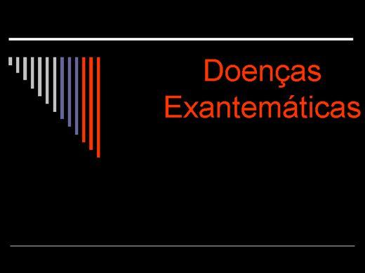 Curso Online de DOENÇAS EXANTEMÁTICAS