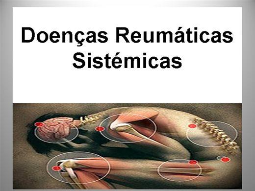 Curso Online de DOENÇAS REUMÁTICAS SISTEMICAS