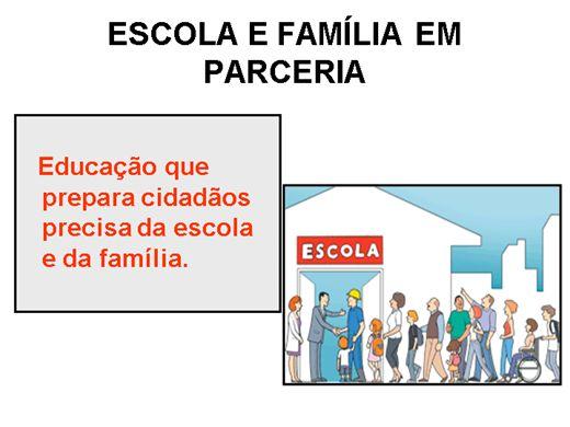 Curso Online de ESCOLA E FAMÍLIA EM PARCERIA