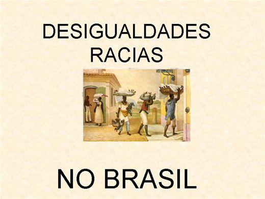 Curso Online de DESIGUALDADES RACIAIS NO BRASIL