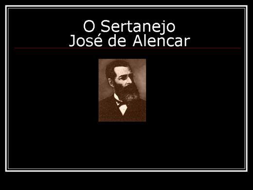 Curso Online de O SERTANEJO - JOSÉ DE ALENCAR
