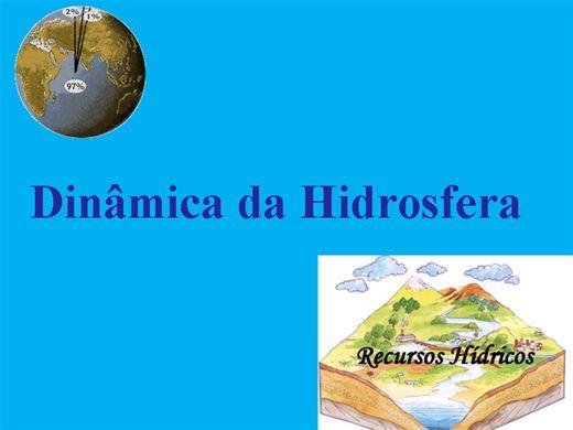 Curso Online de DINÂMICA DA HIDROSFERA