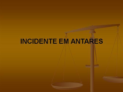Curso Online de INCIDENTE EM ANTARES
