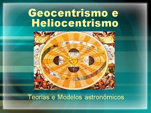 Curso Online de GEOCENTRISMO E HELIOCENTRISMO