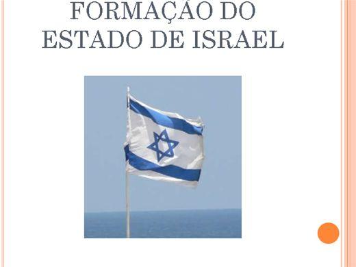 Curso Online de FORMAÇÃO DO ESTADO DE ISRAEL