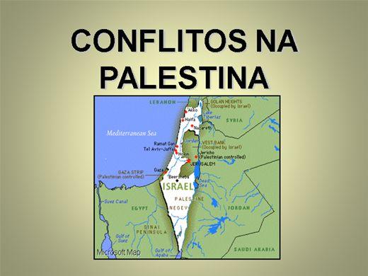 Curso Online de CONFLITOS NA PALESTINA