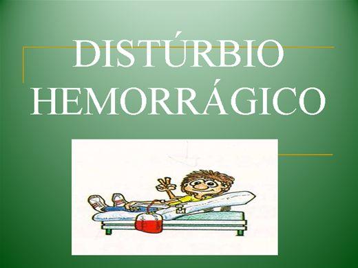 Curso Online de DISTÚRBIO HEMORRÁGICO