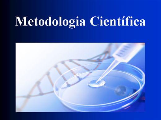 Curso Online de METODOLOGIA CIENTÍFICA