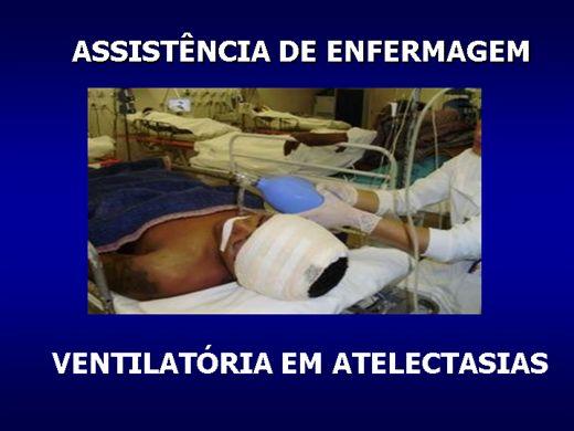Curso Online de ASSISTÊNCIA DE ENFERMAGEM VENTILATORIA EM ATELECTASIAS