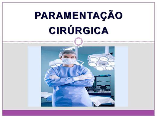 Curso Online de PARAMENTAÇÃO CIRÚRGICA