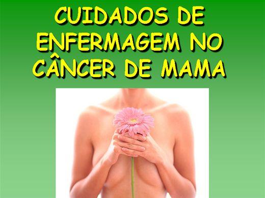 Curso Online de CUIDADOS DE ENFERMAGEM NO CÂNCER DE MAMA