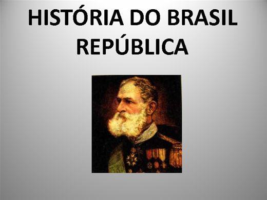 Curso Online de HISTÓRIA DO BRASIL REPÚBLICA