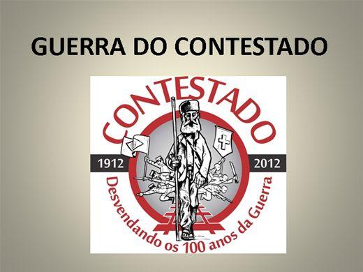 Curso Online de GUERRA DO CONTESTADO 1912 - 1916