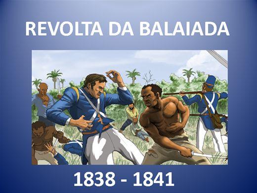 Curso Online de A REVOLTA DA BALAIADA 1838 - 1841