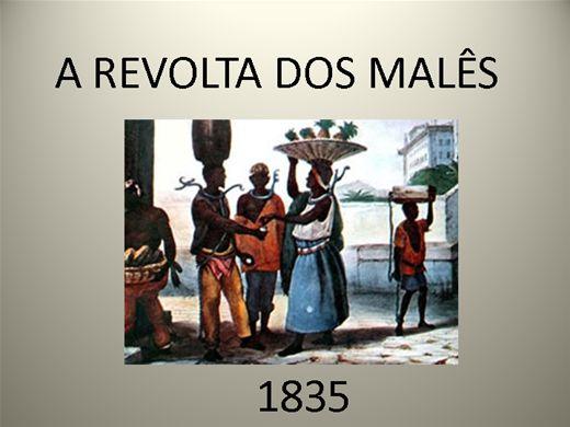 Curso Online de A REVOLTA DOS MALÊS 1835