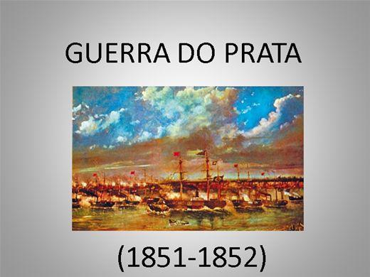 Curso Online de GUERRA DO PRATA (1851-1852)