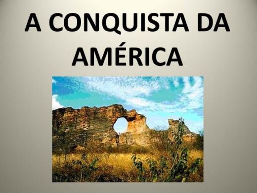 Curso Online de A CONQUISTA DA AMÉRICA