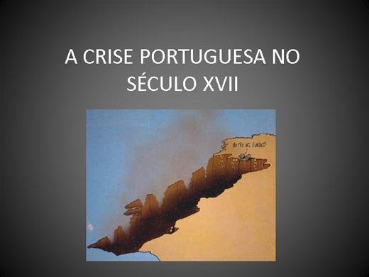 Curso Online de A CRISE PORTUGUESA NO SÉCULO XVII