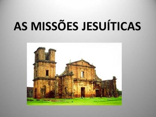 Curso Online de AS MISSÕES JESUÍTICAS