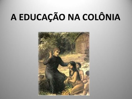 Curso Online de A EDUCAÇÃO NA COLÔNIA