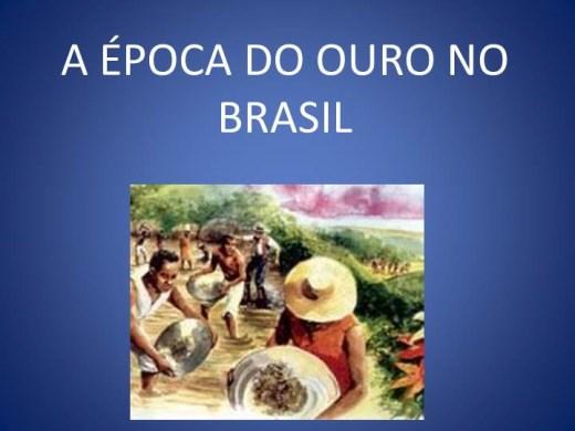 Curso Online de A ÉPOCA DO OURO NO BRASIL