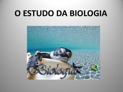 Curso Online de O ESTUDO DA BIOLOGIA