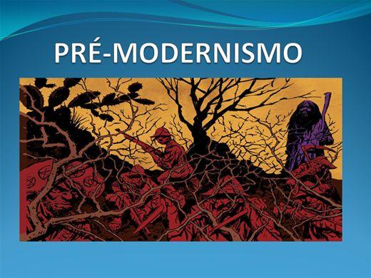 Curso Online de PRÉ-MODERNISMO