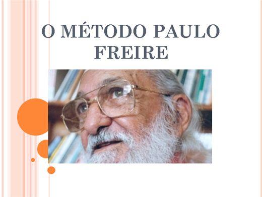 Curso Online de O MÉTODO PAULO FREIRE