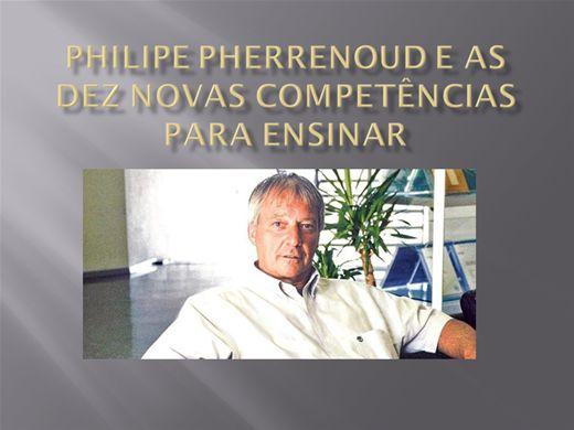 Curso Online de PHILIPE PHERRENOUD E AS DEZ NOVAS COMPETÊNCIAS PARA ENSINAR