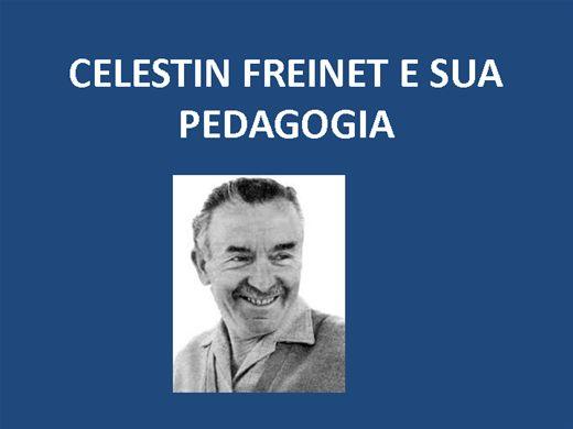 Curso Online de CELESTIN FREINET E SUA PEDAGOGIA