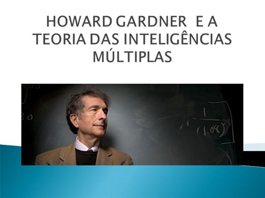 Curso Online de HOWARD GARDNER E A TEORIA DAS INTELIGÊNCIAS MÚLTIPLAS