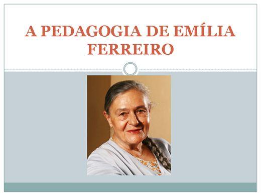 Curso Online de A PEDAGOGIA DE EMÍLIA FERREIRO