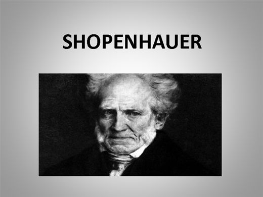 Curso Online de SHOPENHAUER