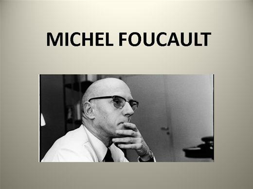 Curso Online de MICHEL FOUCAULT