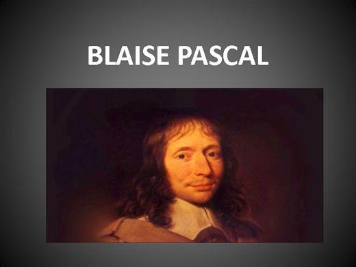 Curso Online de BLAISE PASCAL